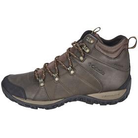 Columbia Peakfreak Venture Shoes Men Mid WP Omni-HEAT brown